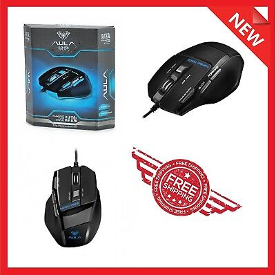 Portable USB Wired Optical Gaming Mouse Mice 2000 DPI For Laptop Computer PC