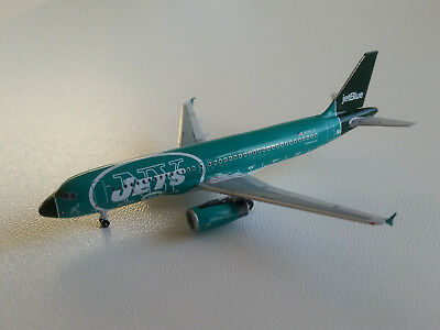 1:400 AeroClassics JetBlue Airways Airbus A320-200 AC19178 N746JB NY Jets