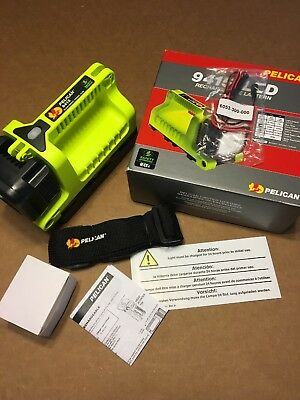 Pelican 9415Not 9410 LED Lantern Flashlight Safety Approved Wire Kit Inc New