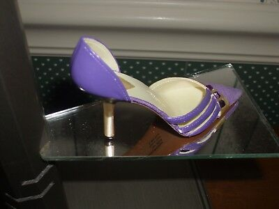 2004- Raine-Just The Right Shoe Figurine-Amazing Amethyst- No Box/ Yes Coa