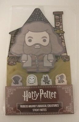 Hagrids Magical Creatures Sticky Notes Harry Potter Wizarding World