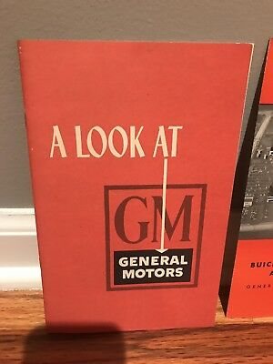 A Look At GM Brochure With unique Linden Plant Booklet