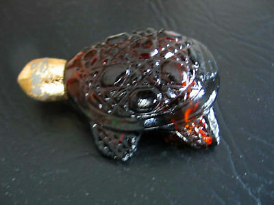"AVON Bottle - 3.25"" x 2.25"" Turtle"