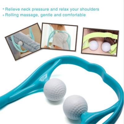 Trigger Point Self Massage Tool Back Neck Shoulder Massager Muscle Relief New A1