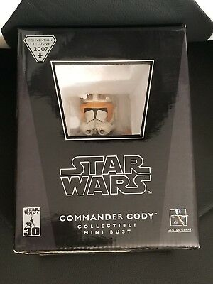 Gentle Giant Star Wars Commander Cody 2007 Convention Exclusive Mini-Bust MISB