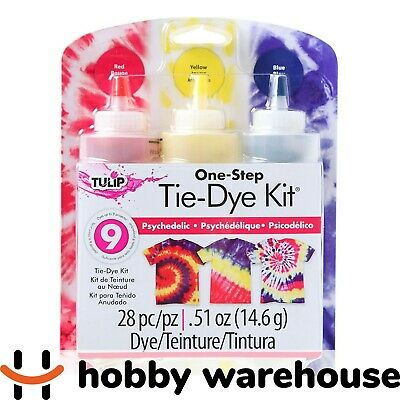 Tulip One Step Tie-Dye 3 Colour Set - Psychedelic