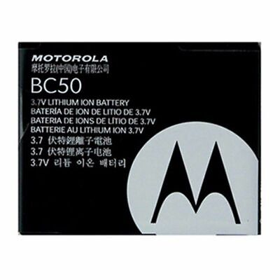 Original Motorola BC50 Battery For Slvr L7 L6 L2 L7c Krzr K1 Rizr Z3 razr