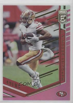 c78d8eae0e5 2018 Donruss Elite Pink  23 Marquise Goodwin San Francisco 49ers Football  Card