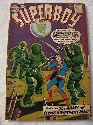SUPERBOY #86 Silver Age Comic Book 1961 DC