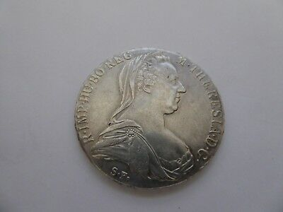 Oesterreich, 1 Taler, 1780 S.F., Maria Theresia,  Silber.   HAFNER   H49a  Wien