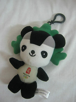coca cola beijing olympic games: a small stuffed figurine key chain