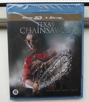 Texas Chainsaw (3D & Blu-ray) nieuw in seal