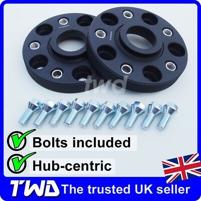25Mm/50Mm Alloy Wheel Spacers + Bolts For Porsche Cayman (987 981 982) [2E10]