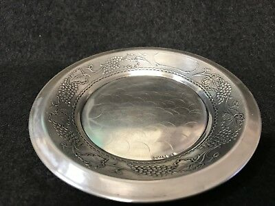 Vintage Sterling Silver Decorative Small Plat 1.3 Oz
