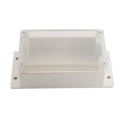 Waterproof Clear Electronic Project Box Enclosure Plastic Cover Case 158x90x65mm