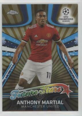 # 58 Anthony Martial Manchester United Topps Chrome Champions League 2017//18