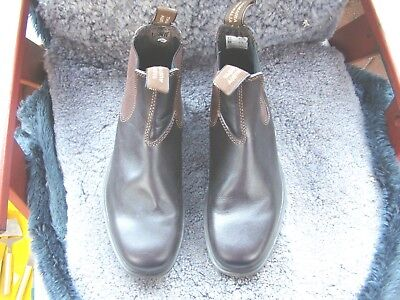 ladies size6 mens size4 brown leather BLUNDERSTONE dress boots NEW