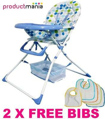 New Portable Folding Baby High Chair Infant Child Feeding Seat