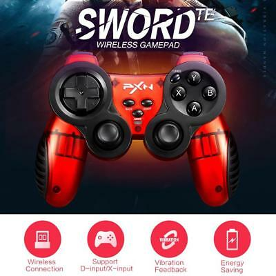 2.4GHz Wireless Dual Vibration Game Controller Gamepad Joystick For PC TV PS 3