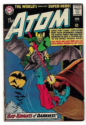 DC Comic ATOM Silver age  #22 VGF+  superman 1966 bat knights darkness