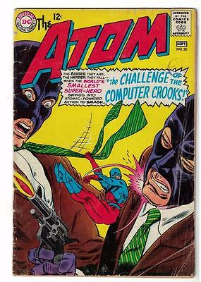 DC Comic ATOM Silver age  #20 VG  superman 1966