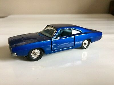 DODGE Charger KING SIZE MATCHBOX Made in England by Lesney