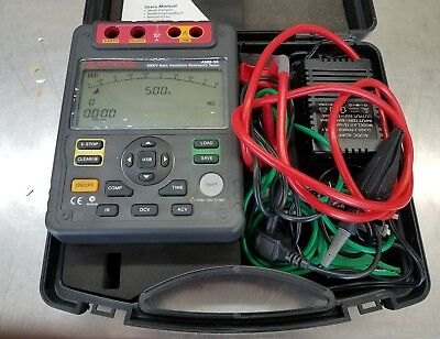 Amprobe AMB-50, 5000 volts Basic Insulation Resistance Tester