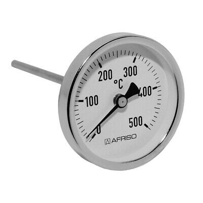 Afriso Rauchgas Thermometer Abgasthermometer 500°C 63830