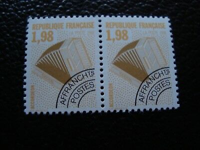 FRANCE - stamp yvert and tellier preoblitere n° 214 x2 n (tooth 13) (A6)