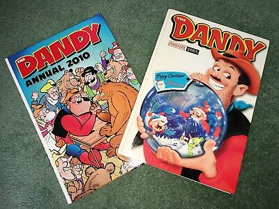 Dandy Annual bundle 2005 and 2010