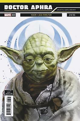 Star Wars Doctor Aphra #23 Yoda Galactic Icons Variant NM Marvel