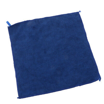 29x29cm Microfibre Cleaning Car Detailing Cloths Dish Wash Towel Duster Blue