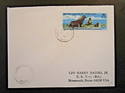 British Antarctic Terr. 1984 Halley Cover to USA (I) - Z6166