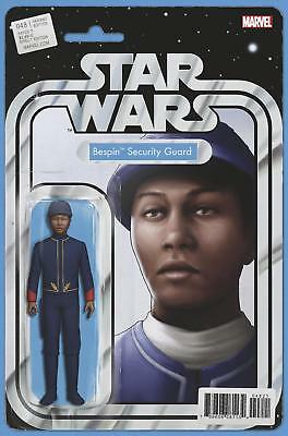 Star Wars (2015-) #48 Bespin Security Guard Action Figure Variant NM Marvel