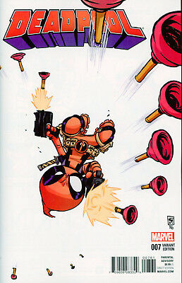 Deadpool (2015-) #7 Skottie Young Baby Variant Cover NM Marvel