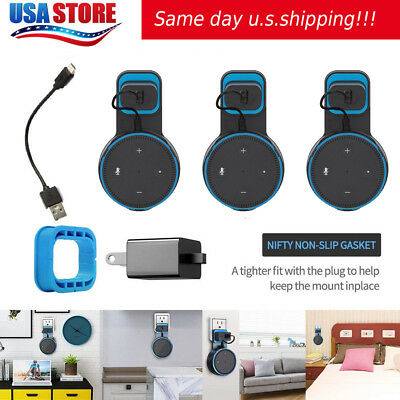 3 Pack Echo Dot Wall Mount Stand Holder Stand For Amazon Alexa Echo Dot 2