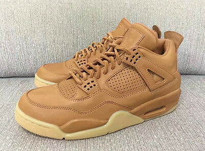 f694e42cf52e canada nike air jordan 4 iv retro premium sz 11 wheat ginger gum pinnacle  819139 205