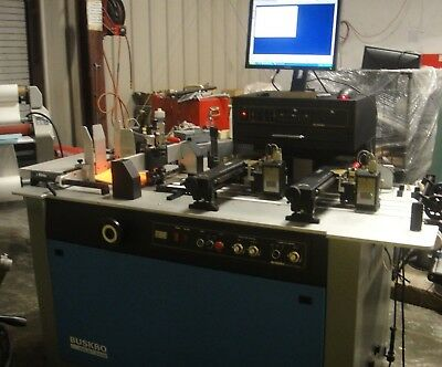 Buskro BK660 Ink Jet Printing System with Updated Controller, 1998,
