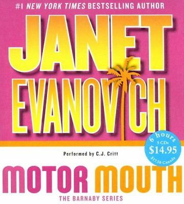 NEW Motor Mouth (Alex Barnaby Series #2) by Janet Evanovich