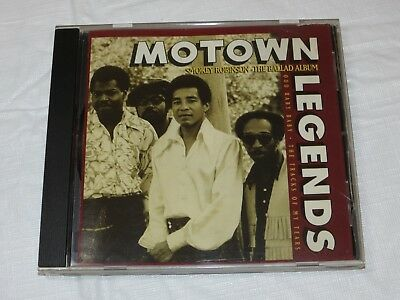 The Ballad Album by Smokey Robinson & the Miracles CD 1994 Motown Record Co