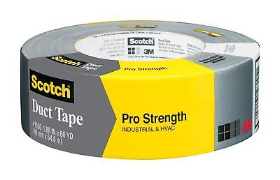 "Scotch 1260-A Pro Strength Duct Tape, 2"" x 60 Yard - NEW"