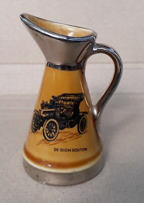 Wade veteran car jug ornament - De Dion Bouton