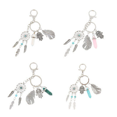Bohemian Antique Silver Key Chain Key Ring Keychain Accessories Gift