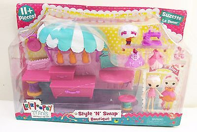 Lalaloopsy Minis Style /'N/' Swap Playset Boutique Mini Doll Set