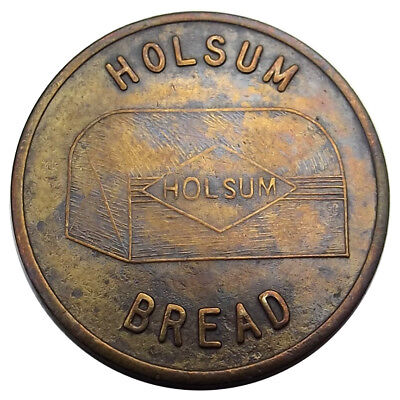 "Holsum Bread Token - ""Holsum's Vacation Jack Pot"" - Advertising Coin 40s-50s-60s"