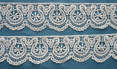 2 metres antique Beds style lace border