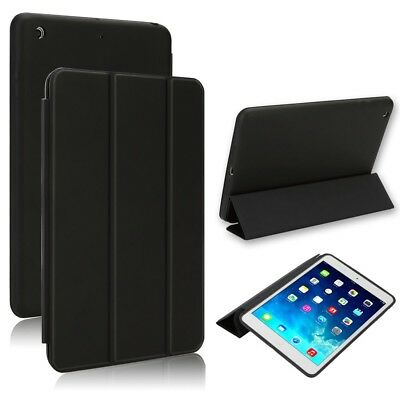 "Funda Flip Cover Smart Case Para Nuevo Ipad 9.7"" 2017 / 2018 Negra Sleep Funcion"