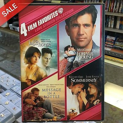 4 Film Favorites: Love Stories Collection (DVD, 2011, 2-Disc Set) Free Shipping
