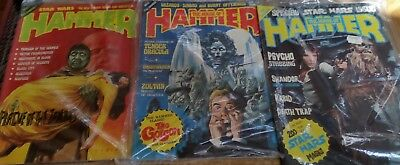 House of Hammer magazine Issue no. 11,13,16 1978.PLAGUE OF ZOMBIES.STAR WARS