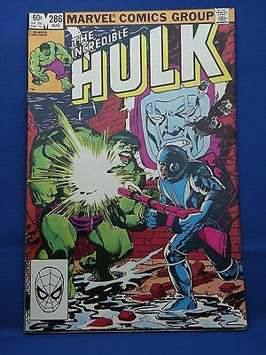 Marvel The Incredible Hulk Comic #286 Aug 1983